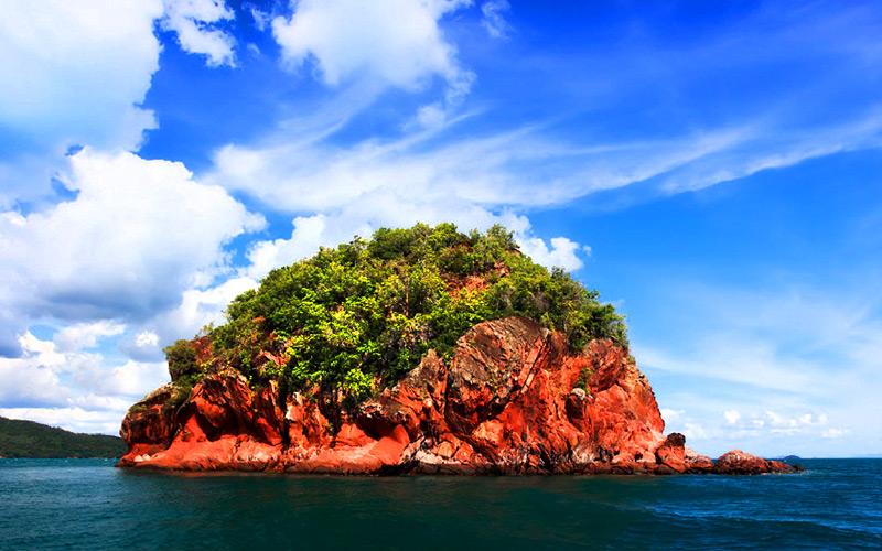 เกาะห้อง รีวิว แวะดำน้ำ เกาะแดง กระบี่