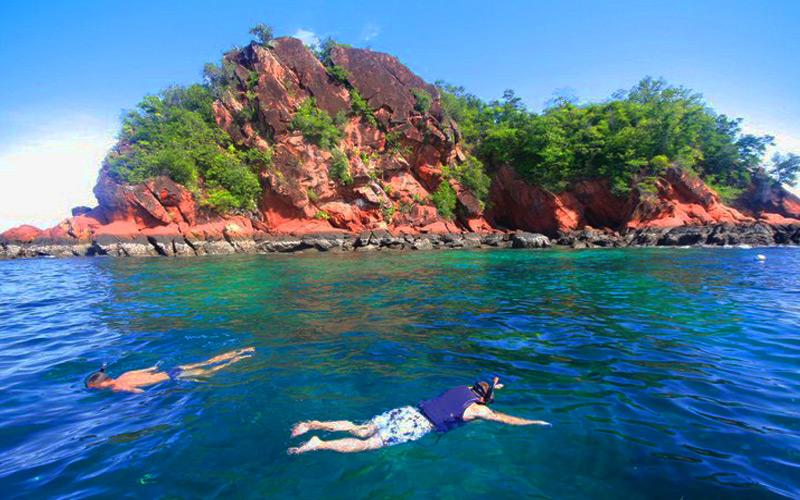 เกาะแดง-แหล่งท่องเที่ยวกระบี่