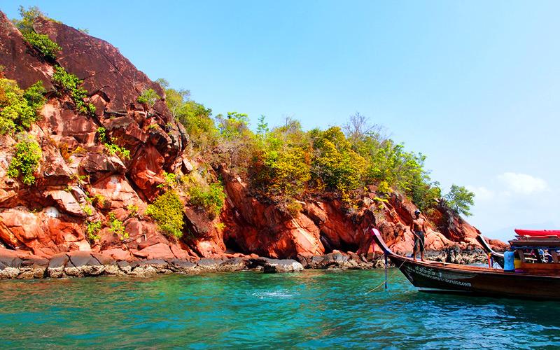 เกาะแดง-ที่เที่ยวกระบี่