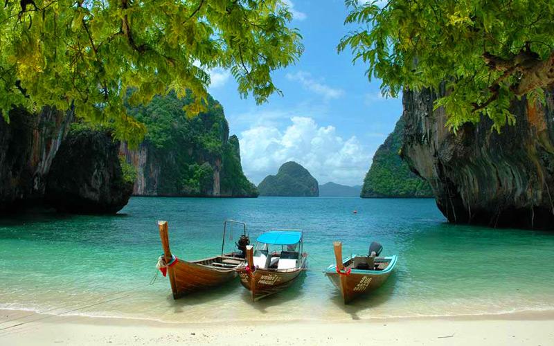 เกาะลาดิง-สถานที่ท่องเที่ยวกระบี่