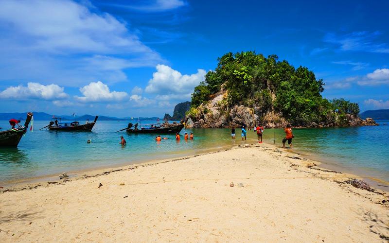 เกาะผักเบี้ย-สถานที่ท่องเที่ยวกระบี่