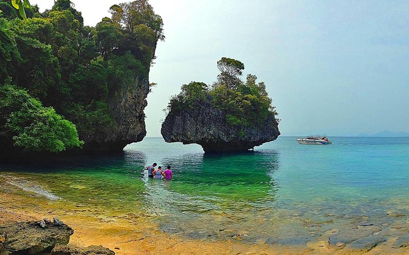 เกาะผักเบี้ย-ที่เที่ยวกระบี่