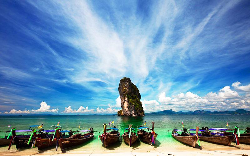 เกาะปอดะ-กระบี่-ทะเลแหวก