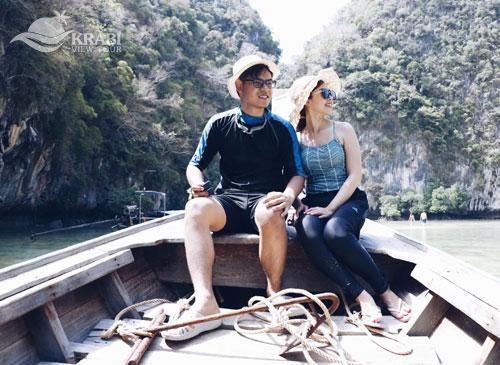 เหมาเรือหางยาว เที่ยวเกาะห้อง ทัวร์ส่วนตัว กระบี่