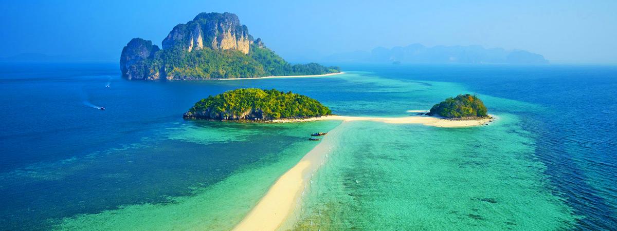 ทริปเที่ยวกระบี่ 4 เกาะ ทะเลแหวก