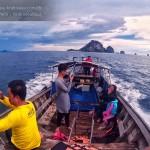 รีวิว เหมาเรือหางยาวกระบี่ เที่ยว 4 เกาะ