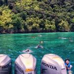 รีวิว เที่ยว 4 เกาะ Speed Boat