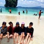 รีวิว 4 เกาะ กับเพื่อน ที่กระบี่