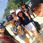 เที่ยวทะเลแหว กับเพื่อนหญิง