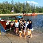 เหมาเรือหางยาว กระบี่ เที่ยวทะเลแหวก