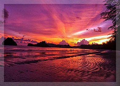 ทัวร์กระบี่ 3 วัน 2 คืน ดูอาทิตย์ตก หาดนพรัตน์ธารา