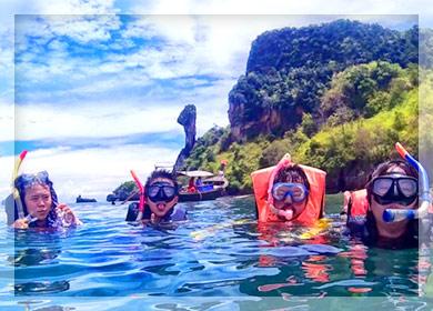 ดำน้ำที่เกาะไก่ ทัวร์กระบี่ 3 วัน 2 คืน
