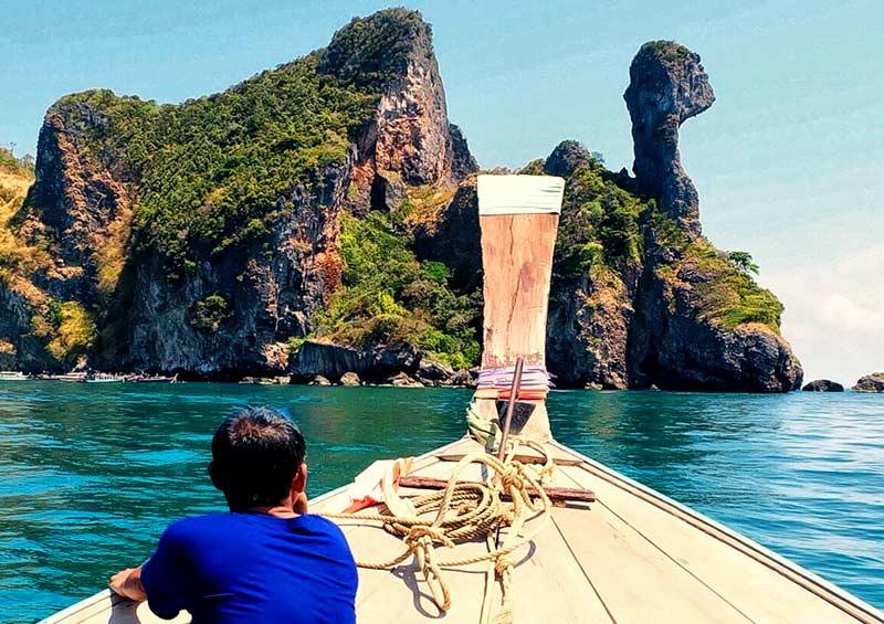 เหมาเรือหางยาว เที่ยวเกาะไก่ ทะเลแหวก