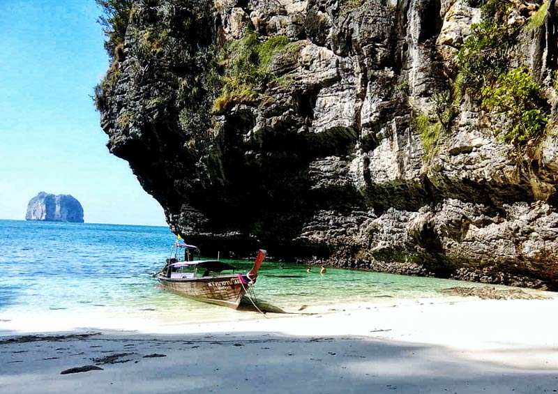 เหมาเรือหางยาวแบบส่วนตัว เที่ยวเกาะกระบี่