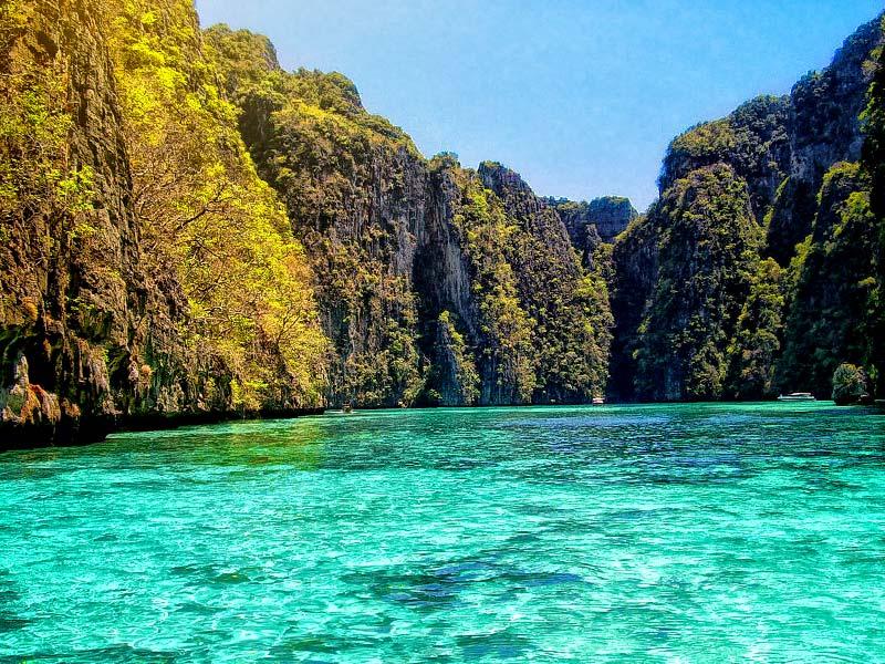 ทริปกระบี่ วันเดียว ทัวร์เกาะพีพี เรือเร็ว