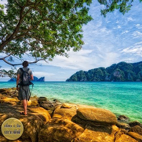 สถานที่ท่องเที่ยวกระบี่ ณ เกาะไผ่ ในทัวร์เกาะพีพี