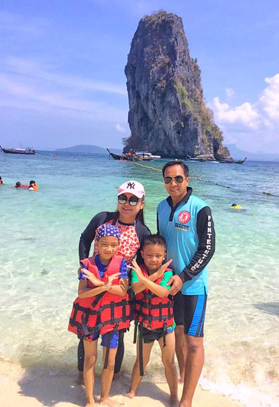 พาลูกๆ ไปเที่ยวทะเล ณ เกาะปอดะ กระบี่