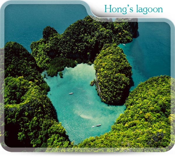 Hong's lagoon with Koh hong tour package