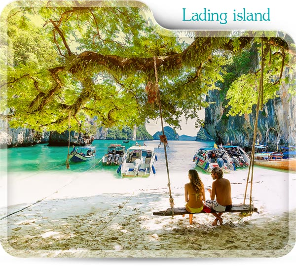 Lading island with Hong island tour