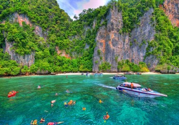Snorkeling point-Phi Phi