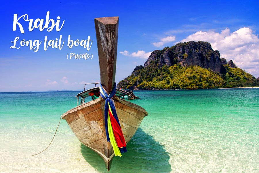 Long tail boat krabi ( Private trip )
