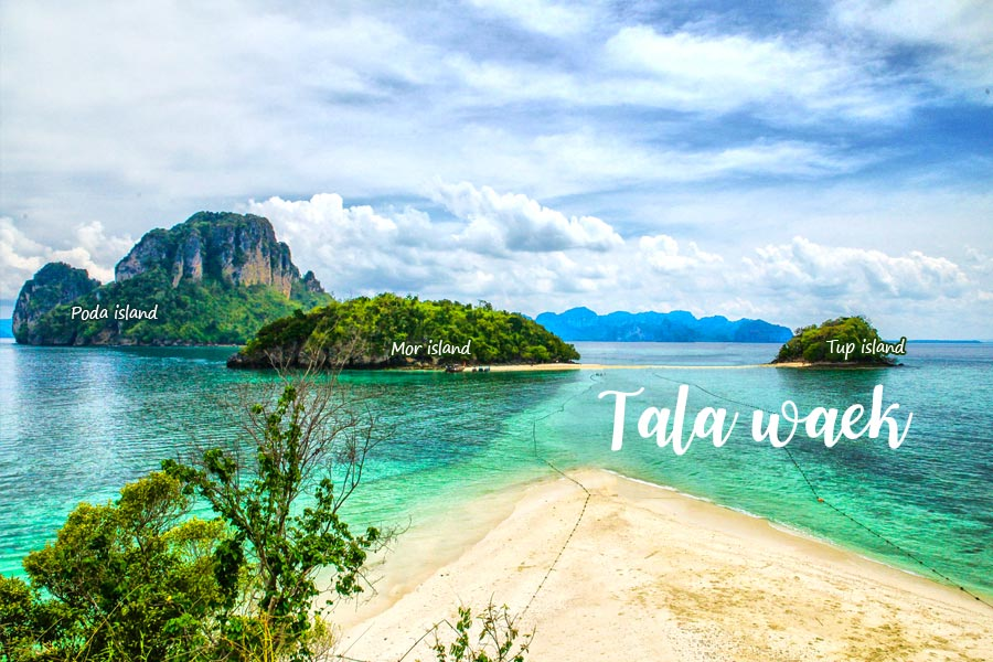 things to do in krabi at talay waek - tup island