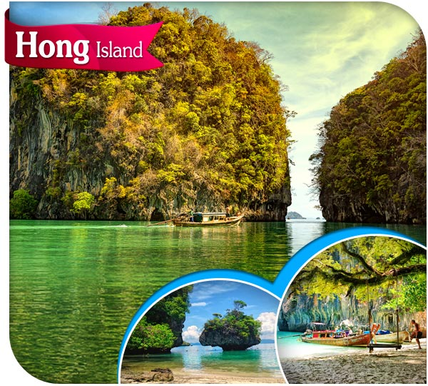 hong island tour krabi from ao nang
