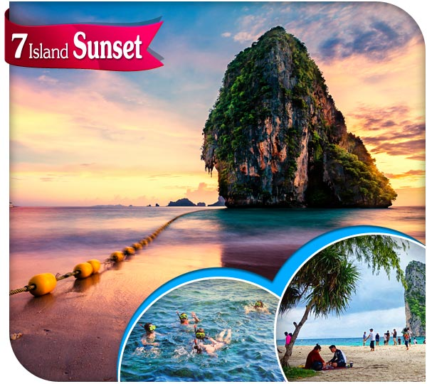 7 island tour krabi package best price